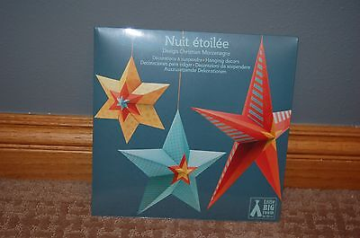 Little Big Room by Djeco 3 Hanging Star Decorations ' Nuit Etoilee ' Child Decor