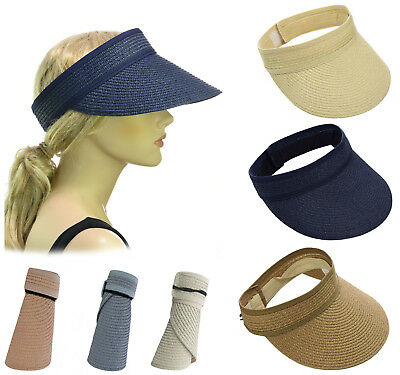 Rollup Outdoor Travel Packable Portable Sun Block Headwear Hat Peak Brim Visor