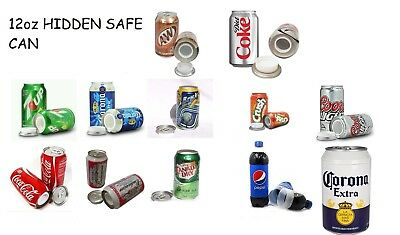 HIDDEN JEWELRY CAN SODA BEER ICED TEA STORAGE DIVERSION SECURITY SECRET 12oz