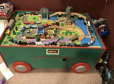 Brio Wooden Railway System Train Table