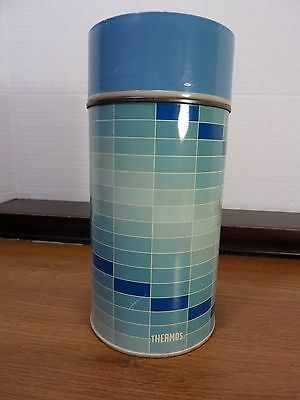 VTG KING SEELEY THERMOS 1 PINT HOT - COLD w/ STOPPER AND CUP MADE IN U.S.A.
