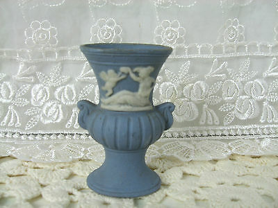 """Made in Occupied Japan Miniature 3"""" high Pottery Vase Figurine"""