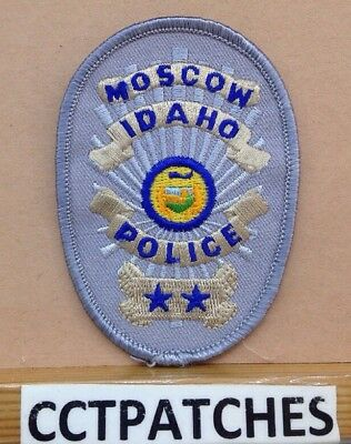 Moscow, Idaho Police Badge Shoulder Patch Id