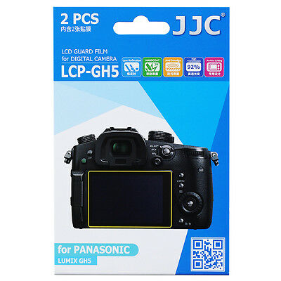 JJC  LCD Guard Film Camera Display Screen Protector For PANASONIC LUMIX GH5