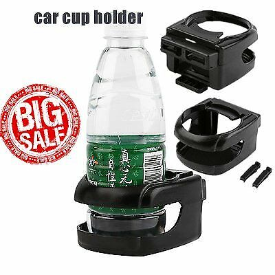 Auto Car Air Vent Bottle Can Coffee Drinking Cup Holder Bracket Mount Tray IN