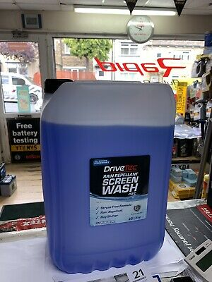 Vetech Rain Repellant Screen Wash  25 LTR Concentrated screen wash Free deliver