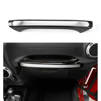 For Jeep Wrangler 11-16 Front Copilot Glove Storage Box Handle Decoration JCB