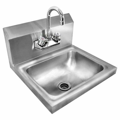 Kitchen Sink Stainless Steel Single Bowl Hand Wash Drainage System Large Modern