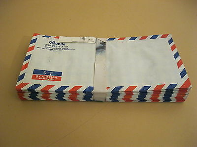 100 x Quelle Luftpost / Air Mail Briefumschlag FAR EAST & Co. Shanghai