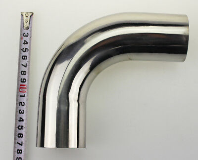 "3"" 90 Degree Stainless Steel Mandrel Bend Pipe Exhaust/Catback"