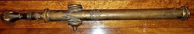 Antique Vaughan's Seed Store BRASS Hand Pump Insect Powder Sprayer CHICAGO NY