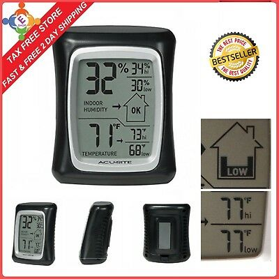 Humidity Monitor Indoor Thermometer Digital Hygrometer Humidity Gauge Indicator
