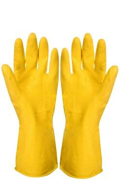12 Pairs ( 12 X 1 Pair ) Household Rubber Gloves Extra Large Size Supertouch New