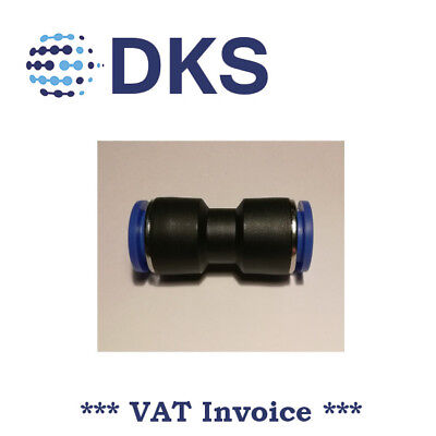 Straight Equal Push In Fit Pneumatic Fittings Air 12mm Connector tube 000615