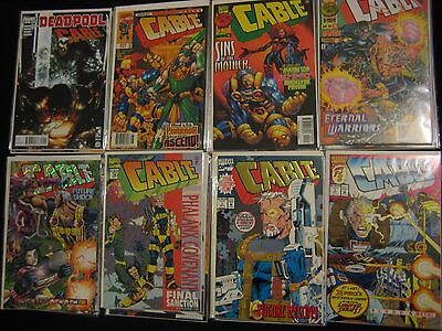 Cable Marvel Comics lot 32 issues #1 Deadpool X-Force X-men Wade Wilson movie