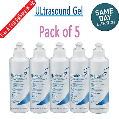New Healthlife Fetal Doppler Ultrasound Transmission Gel Tens EMS 250ml