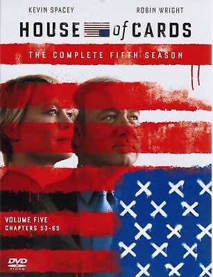 New House of Cards: The Complete Fifth Season 5 (DVD, 2017, 4 Disc Set)