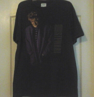 Men s T-Shirt - Rod Stewart Live Concert - Tour Cities On Back - Size 5b834fec0ceb