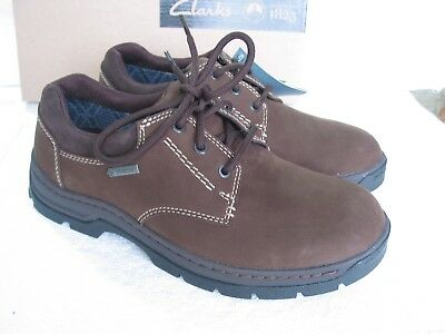 New Clarks  Stanten Walk Goretex Leather Strong Sole  Shoes Various Sizes