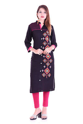 Indian Bollywood Pakistani Kurta Designer Rayon Tunic Top Ethnic Dress Kurtis