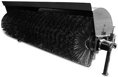 """NEW  Hydraulically-driven  X-treme SKID STEER Angle Broom 84""""   FREE SHIPPING"""