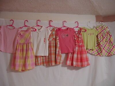 8 Piece Lot Girls Clothes Size 3T Gymboree + Other Brands Outfit Set -9F