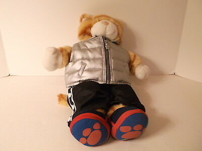 Build-A-Bear Workshop BAB BABW Orange Striped Tabby Cat 17 Inch Plush