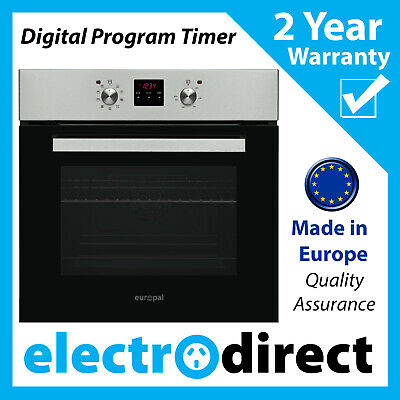 Made in Europe 60cm Electric Oven Fan Forced Built-in + Digital Timer Programmer