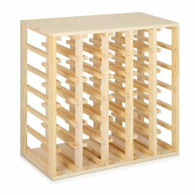 30 Bottles Timber Wine Rack