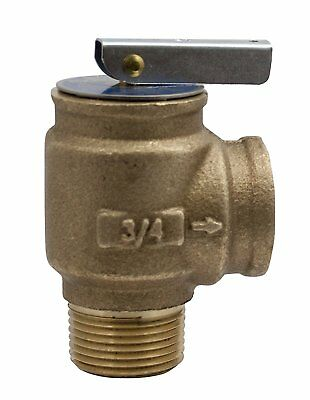 Pressure Safety Relief Valve 3/4in NPT 30psi  for Ultra Gas Boiler Heating Part