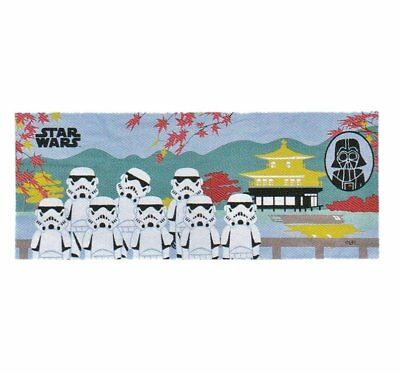 "Star Wars 100% Cotton Japanese Tenugui Cloth Stormtrooper W34×90cm(13.39""x35.43"""