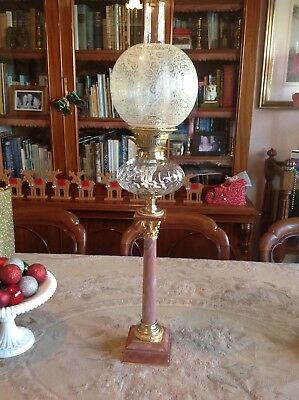 Antique Kero / Oil Banquet Lamp