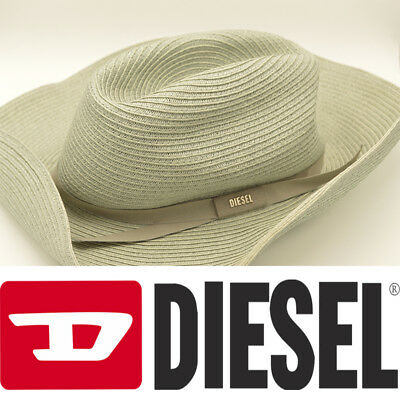 DIESEL COWBOW B CAPPELLO 00SAZN Womens Panama Hats Fedora Homburg Hat  Trilby Hat - EUR 22 aa8e21bef87