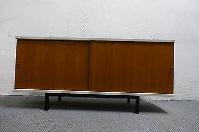 xl sideboard 60er nuss credenza vodder wegner knoll waeckerlin danish teak wk wr eur 1 00. Black Bedroom Furniture Sets. Home Design Ideas