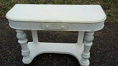 Shabby Chic Antique Vintage Desk Table