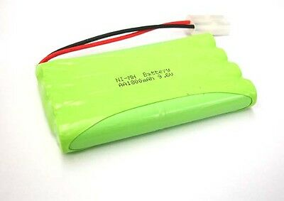 2pcs 9.6V Ni-MH 1800mAh AA 8-Cell Battery Pack Tamiya plug for RC BOAT CAR TANK