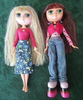 "Set 2 Mattel Diva Starz 12"" Dolls- Nikki-Talks,stacker Boots; Alexa-Doesn't Talk"
