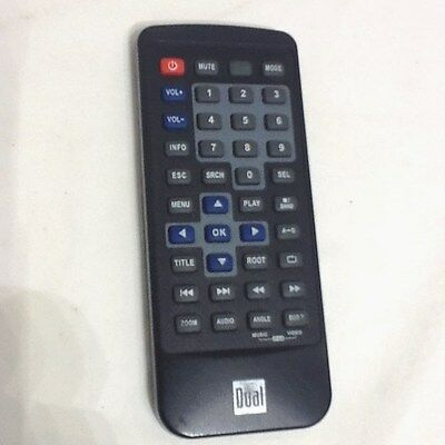 DUAL REMOTE CONTROL 29AXDVD9101 for XDVD9101, 2025 Battery has been REPLACED