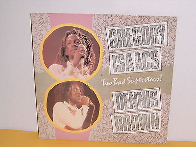 Lp - Gregory Isaacs - Dennis Brown - Two Bad Superstars