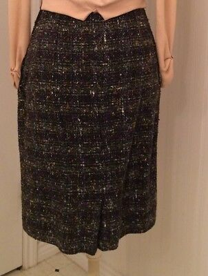 vintage 1950's pencil skirt, great nubby fabric, cotton blend