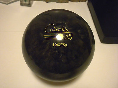 Vintage New Columbia 300 Charcoal White Dot Undrilled (Nos) 16 Lbs 3.8 Ozs 3.7Tw