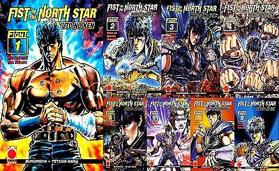 Fist of the North Star  1-8  - NEU  OVP  komplette Serie 1 bis 8  Panini Planet