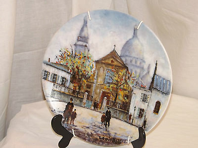 D'arceau Limoges Limited Edition Porcelain Plate 'L Eglise Saint Pierre' AT 445