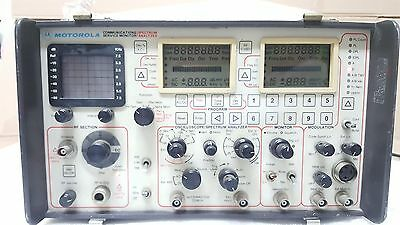 Motorola R-2400A/HS 220V Communications System Analyzer, Service Monitor