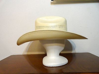 "RESISTOL Vinylcode ""Rusty Nail"" Cowboy Hat - Size 7L - Natural Color"