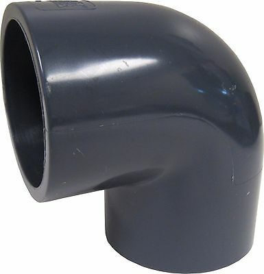 """New Lot Of 10 Sch 80 Pvc 1"""" 90 Degree Elbow Socket Connect New Sch 80 Pvc"""