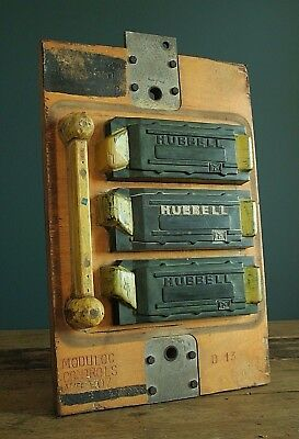 Large vintage wooden engineering mould / mold, submarine / defence parts.