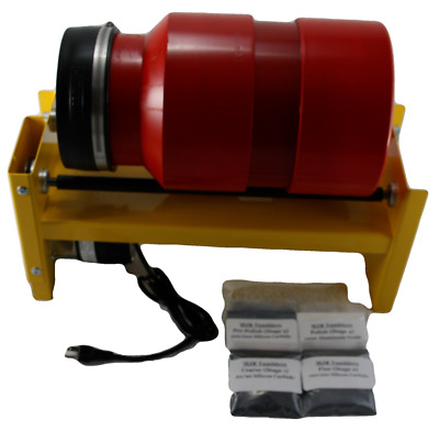 40 pound Rock Tumbling Polishing Rotary Tumbler with Grit Kit by MJR Tumblers