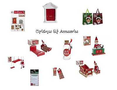 Christmas Elf Accessories Ideas Shelf Behaving Badly Prop Game Clothes Novelty