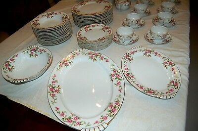 82 Pc Kent Maytime China Made In Japan Gorgeous Excellent Condition